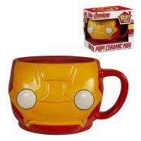 Чашка Avengers - Iron Man Pop! Home 12 oz. Mug