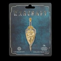 Значок collectible Pin Warcraft LLANE SWORD and SHIELD DUAL PIN