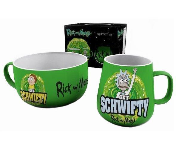 Набор для завтрака Rick And Morty: Breakfast Set - Get Schwifty