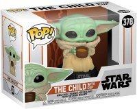 Фигурка Funko Pop Star Wars: Mandalorian - The Child Yoda with Cup Фанко Звёздные войны Йода