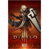 Плакат фирменный Blizzard - Diablo Crusader Poster