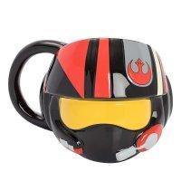 Чашка Star Wars - The Last Jedi - Resistance Helmet Ceramic Sculpted Mug 20 oz