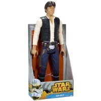 "Фигурка Star Wars - Disney Jakks Giant 18"" Han Solo Figure"