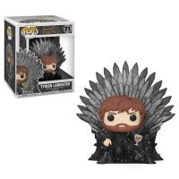 Фигурка Funko Pop Deluxe: Game of Thrones - Tyrion Sitting On Iron Throne фанко Тирион