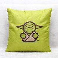 Наволочка Star Wars  (Polyester & Linen) Yoda