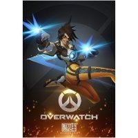 Плакат фирменный Blizzard - Overwatch Tracer Poster