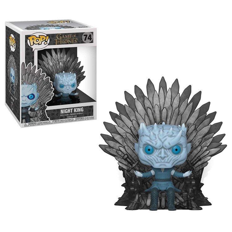 Фигурка Funko Pop Deluxe: Game of Thrones - Night King Sitting on Iron Throne фанко Король ночи