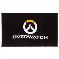 Полотенце Overwatch Logo Beach Towel Black 60
