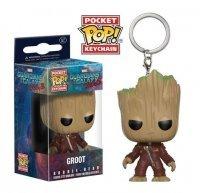 Брелок Marvel: Guardians O/T Galaxy 2 Funko Pocket POP Keychain: Ravager Groot