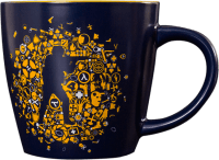 Кружка Valve CS:GO Icon Splatter Mug 350 ml Navy
