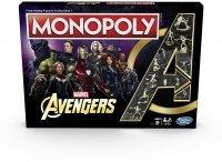 Монополия настольная игра Monopoly Game: Marvel Avengers Edition