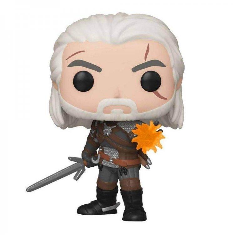Фигурка Funko Pop! Ведьмак (Witcher) - Geralt Геральт Glow in The Dark (GameStop Exclusive)