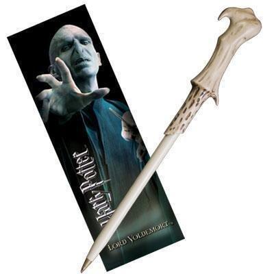 Ручка палочка Harry Potter - Voldemort Pen and Bookmark + Закладка