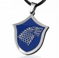 Медальон Game of Thrones Stark Wolf