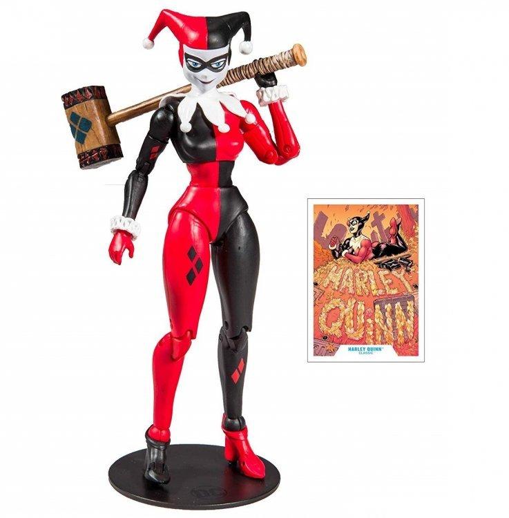 Фигурка McFarlane DC Multiverse Harley Quinn: Харли Квинн Classic Action Figure