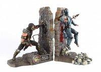Статуэтка Mortal Kombat Kollectors Edition SubZero Scorpion Bookends Statue