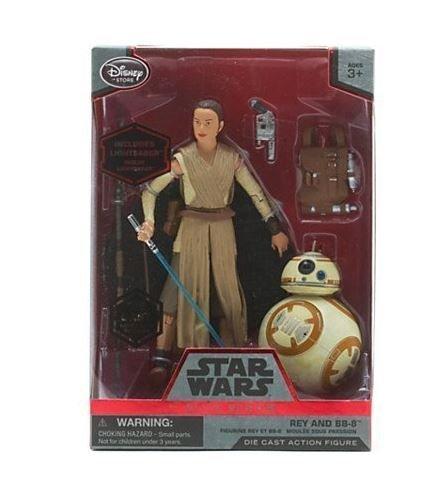 Фигурка Disney Star Wars Elite Series Die-cast - Rey and BB-8 Figure