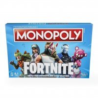 Монополия настольная игра Фортнайт Monopoly Game: Fortnite Edition