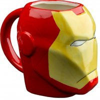 Чашка Avengers - Iron Man Marvel Molded 16 oz. Mug