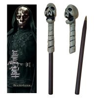 Ручка палочка Harry Potter - Death Eater Skull Wand Pen and Bookmark + Закладка