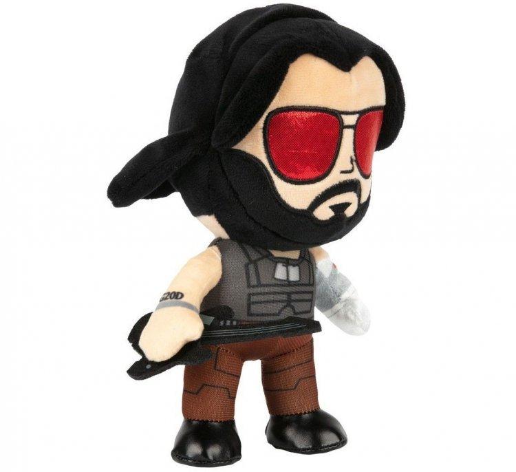 Мягкая игрушка JINX Cyberpunk 2077 - Johnny Silverhand Plush