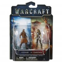 Фигурка Warcraft Movie - LOTHAR VS GARONA Figure set