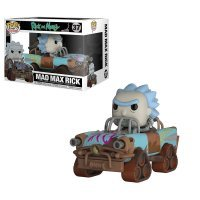 Фигурка Funko Pop! Rides: Rick & Morty - Mad Max Rick Collectible Figure