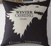 Подушка Game of Thrones  (Cotton & Linen) STARK