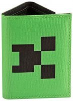 Кошелёк JINX Minecraft - Pocket Creeper Tri-Fold Nylon Wallet