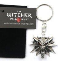 Брелок 3D Ведьмак (The Witcher) металл