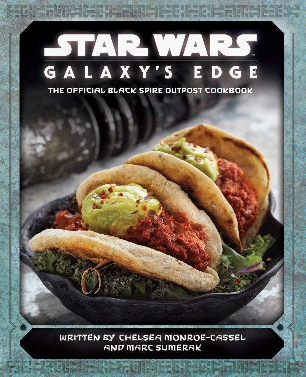 Книга Star Wars: Galaxys Edge: The Official Black Spire Outpost Cookbook (Твёрдый переплёт) (Eng)