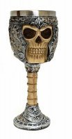 Кубок Game of Thrones Wine Goblet - Skeletal Skull Armor
