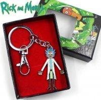 Брелок Рик и Морти Rick And Morty 3D + подарочный бокс №2