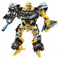 Фигурка Transformers Bumblebee with Sam  robot Action figure (Dark of the Moon)