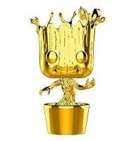 Фигурка Funko Pop! Marvel - Groot (Gold Chrome) Exclusive