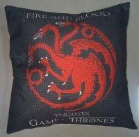 Наволочка Game of Thrones  (Cotton & Linen) Targaryen
