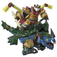 Mega Bloks World of Warcraft:  pandaren on DRAGON TURTLE