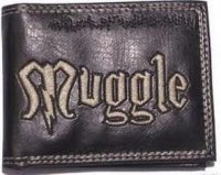 Кошелёк Harry Potter Muggle Black Wallet