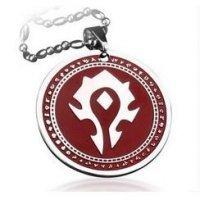 Медальон World of Warcraft Horde Logo