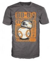 Футболка Men's Pop! T-Shirts: Star Wars Ep 7 - BB-8 Poster (размер L)
