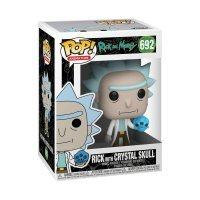 Фигурка Фанко Рик и Морти Funko Pop! Rick and Morty - Rick with Crystal Skull