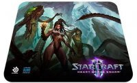 Коврик SteelSeries QcK Starcraft II Heart of the Swarm KERRIGAN
