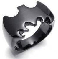 Кольцо Batman City Hero Metal (цвет: чёрный)