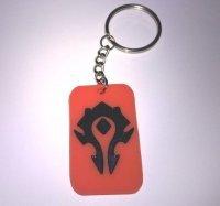 Брелок World of Warcraft Horde Red