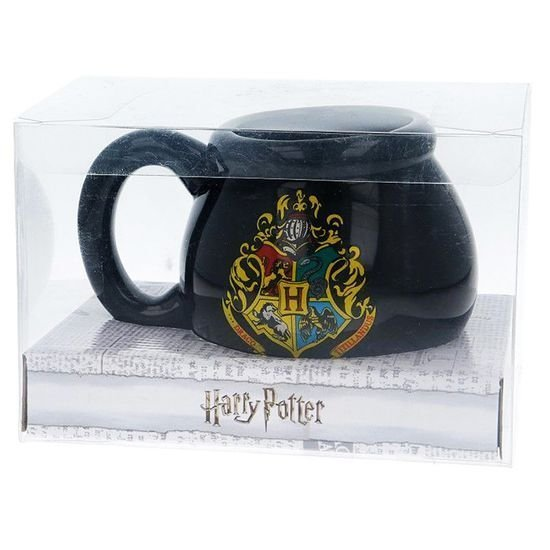 Кружка Harry Potter 3D Sculpted Ceramic Mug 480 ml GIFT BOX Гарри Поттер котёл